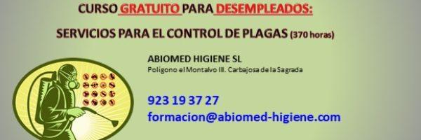 SEAG0110-Servicios para el control de plagas. Marzo 2019