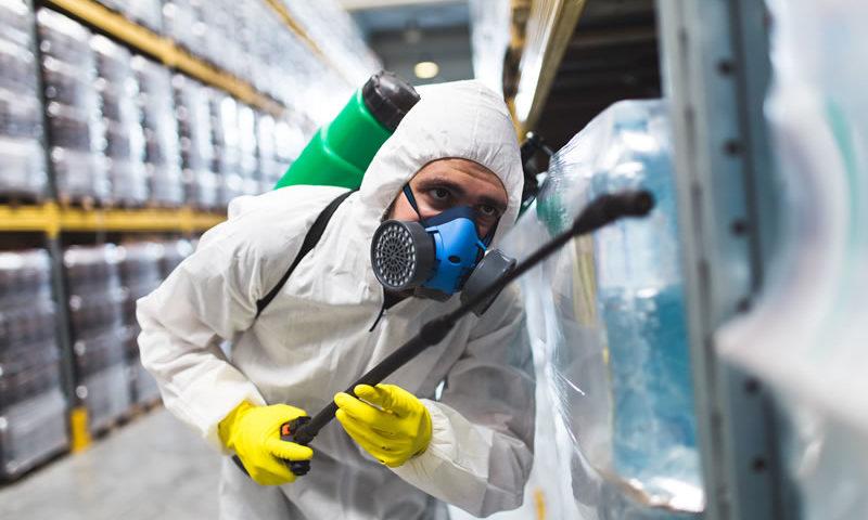 control de plagas industria